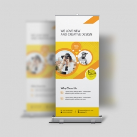 Professional Business Roll-Up Banner