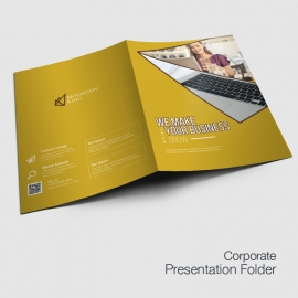 Professional Service Presentation Folder