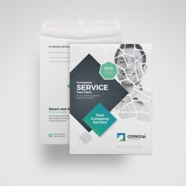 Professional Services C4 Envelope Catalog With Rhombus