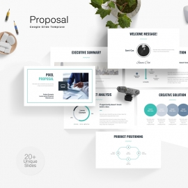 Project Proposal Google Slide Template
