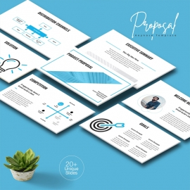 Project Proposal Keynote Template