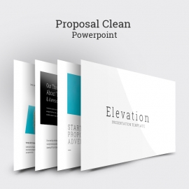Proposal Clean PowerPoint