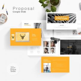 Proposal Google Slide Template 3