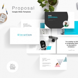 Proposal Minimal Google Slide Template