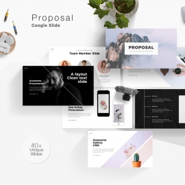 Proposal Minimal Minimal Google Slide Template