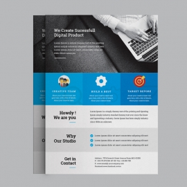 PSD Corporate Business Flyer
