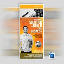 PSD Corporate Business Rollup Banner