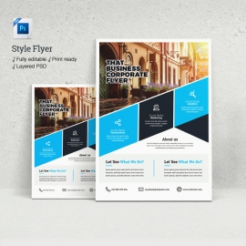 Psd Style Flyer