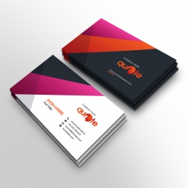 Quote Brand Business Card