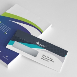 Quote Brand Commerial Envelope