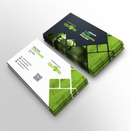 Quote Brand Creative Business Card