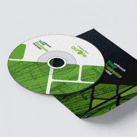 Quote Brand Creative CD Sticker