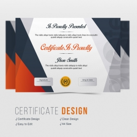 Quote Brand Creative Certificate