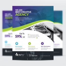 Quote Brand Creative Flyer
