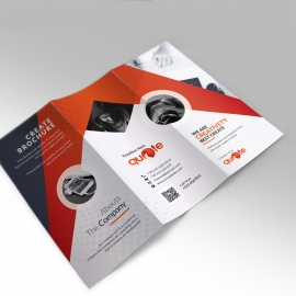 Quote Brand Trifold-Brochure