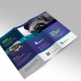 Quote Brand Trifold Brochure