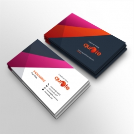Quote Pro Brand Business Card