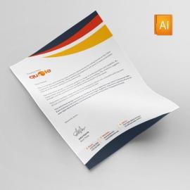 Quote Pro Brand Letterhead