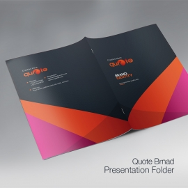 Quote Pro Brand Presentation Folder
