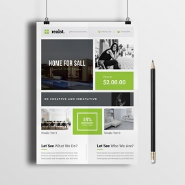 Real Estate Box Design Flyer