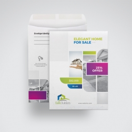 Real Estate C4 Envelope Catalog With Boxs