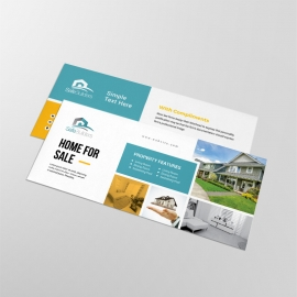 Real Estate Compliment Card With Paste Boxs