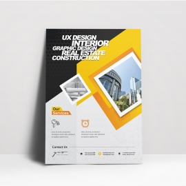 Real Estate Construction Flyer Template