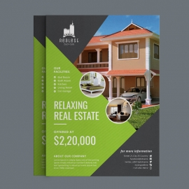 Real Estate Flyer Green Concepts