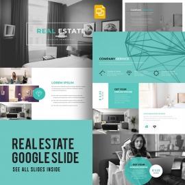 Real Estate Google Slide Template
