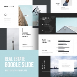 Real Estate Google Slide Template