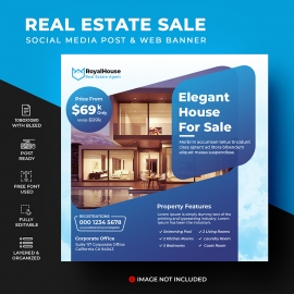 Real Estate Social Media Template
