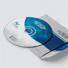 RealEstate Creative Clean CD-Sticker