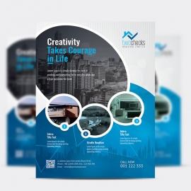 RealEstate Creative Flyer Design