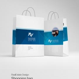 RealEstate Creative Shopping Bag