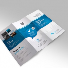 RealEstate Creative Trifold Brochure