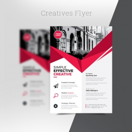 Red Creatives Flyer