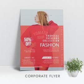 Red Fashion Flyer