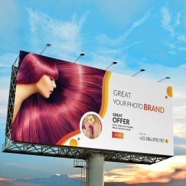 Relax Beauty & Spa BiIlboard Banner