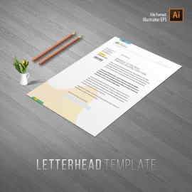 Relax Beauty & Spa Business Letterhead
