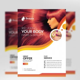 Relax Beauty & Spa Flyer
