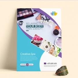 Relax Beauty & Spa Flyer