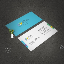 Relax | Beauty & Spa Health Care Business Card