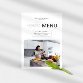 Restauran Food Menu Template