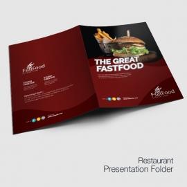 Restaurant & Fast Food Presentation Folder