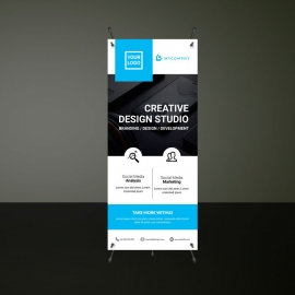 Rollup Banner Template Design