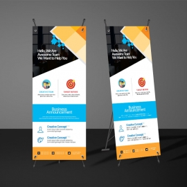 Rollup Banners Template