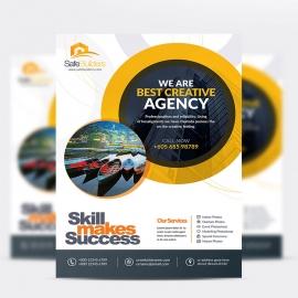 SafeBuilders Brand Creatitive Flyer