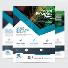 SafeBuilders Creative Clean Flyer