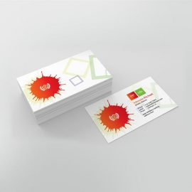 School Care Business Card Template