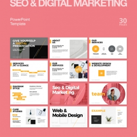 Digital Marketing & SEO Powerpoint